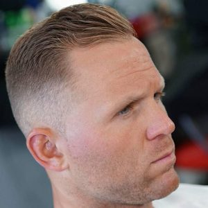 Haircuts-For-Balding-Men-High-Fade-with-Small-Side-Sweep